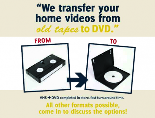 VHS tapes – Don't throw them away just yet!