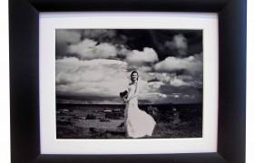 10x8 Black Bead Photo Frame