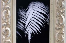 7x5 Fleur White Photo Frame