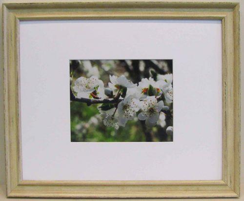 Shabby White 20x16 Photo Frame