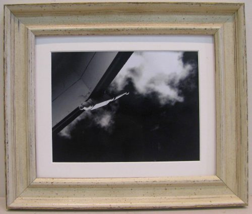 Shabby White 8x10 Photo Frame