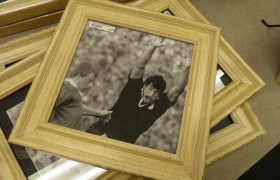Shabby White 8x8 Photo Frame